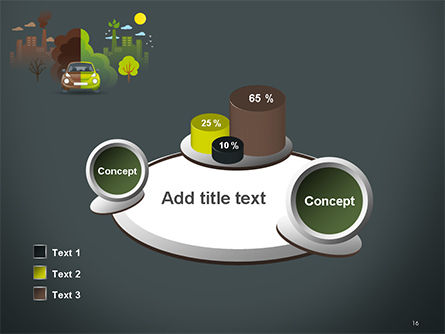 Half Green and Brown Environment PowerPoint Template Slide 16