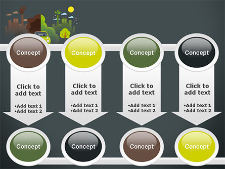 Half Green and Brown Environment PowerPoint Template Slide 18