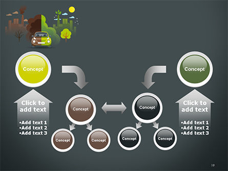 Half Green and Brown Environment PowerPoint Template Slide 19