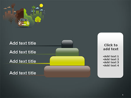 Half Green and Brown Environment PowerPoint Template Slide 8
