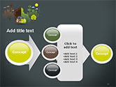 Half Green and Brown Environment PowerPoint Template#17