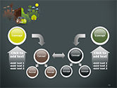 Half Green and Brown Environment PowerPoint Template#19