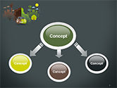 Half Green and Brown Environment PowerPoint Template#4