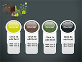 Half Green and Brown Environment PowerPoint Template#5