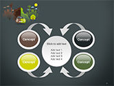 Half Green and Brown Environment PowerPoint Template#6