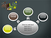 Half Green and Brown Environment PowerPoint Template#7