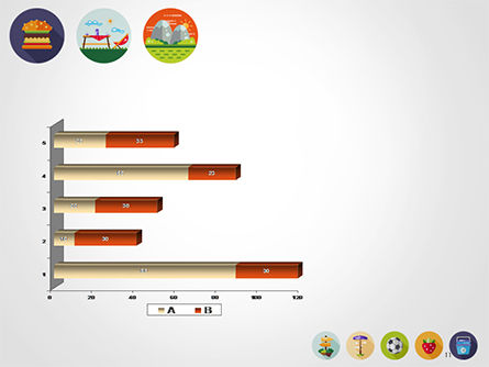 Barbecue and Picnic Icons PowerPoint Template Slide 11
