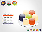 Barbecue and Picnic Icons PowerPoint Template#12