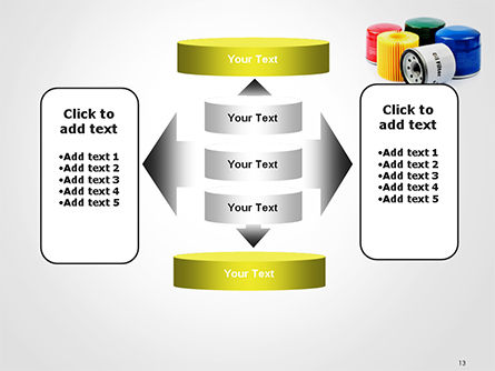 Oil Filters PowerPoint Template Slide 13
