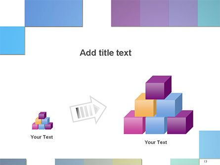 Colorful Mosaic PowerPoint Template Slide 13