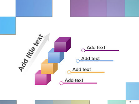 Colorful Mosaic PowerPoint Template Slide 14
