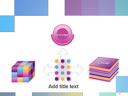 Colorful Mosaic PowerPoint Template Slide 19