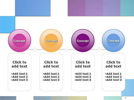 Colorful Mosaic PowerPoint Template Slide 5