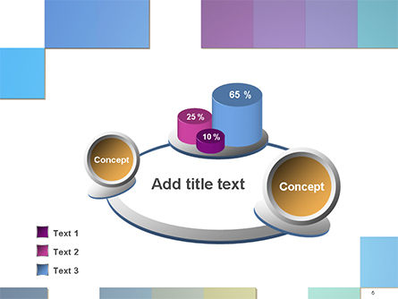 Colorful Mosaic PowerPoint Template Slide 6