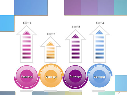 Colorful Mosaic PowerPoint Template Slide 7