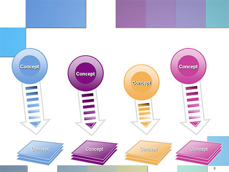 Colorful Mosaic PowerPoint Template Slide 8