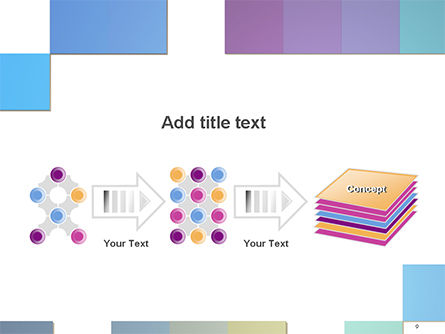 Colorful Mosaic PowerPoint Template Slide 9
