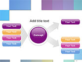 Colorful Mosaic PowerPoint Template#15