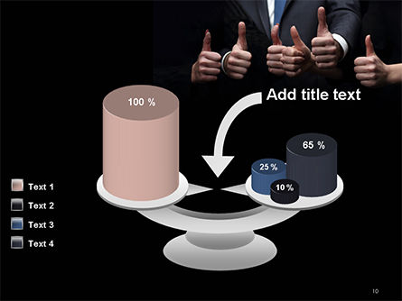 Thumbs Up PowerPoint Template Slide 10