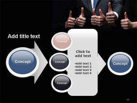 Thumbs Up PowerPoint Template Slide 17