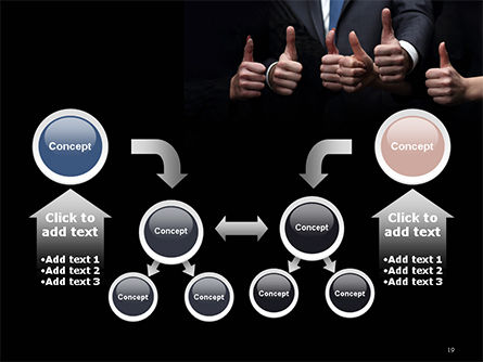 Thumbs Up PowerPoint Template Slide 19