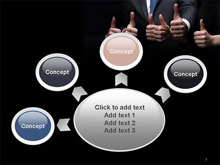 Thumbs Up PowerPoint Template Slide 7