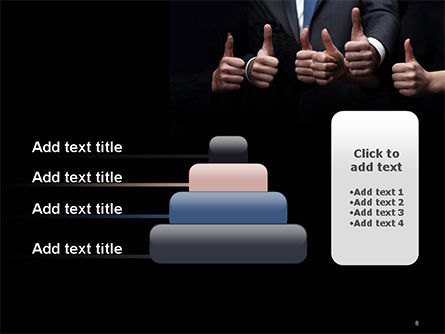 Thumbs Up PowerPoint Template Slide 8