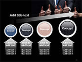 Thumbs Up PowerPoint Template#13