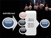 Thumbs Up PowerPoint Template#17