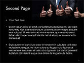 Thumbs Up PowerPoint Template#2