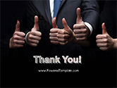 Thumbs Up PowerPoint Template#20