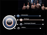 Thumbs Up PowerPoint Template#3