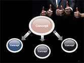Thumbs Up PowerPoint Template#4