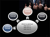 Thumbs Up PowerPoint Template#7