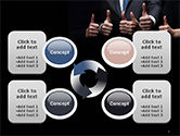 Thumbs Up PowerPoint Template#9