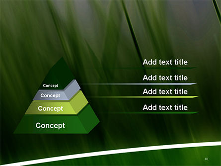 Green House Outline PowerPoint Template Slide 10