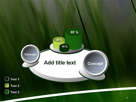 Green House Outline PowerPoint Template Slide 13