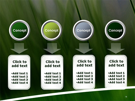 Green House Outline PowerPoint Template Slide 18