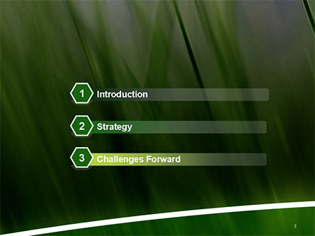 Green House Outline PowerPoint Template Slide 3
