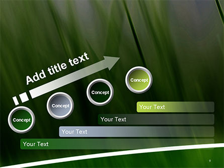Green House Outline PowerPoint Template Slide 9
