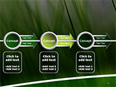 Green House Outline PowerPoint Template#11