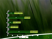 Green House Outline PowerPoint Template#17