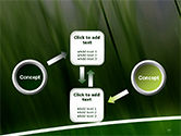Green House Outline PowerPoint Template#19