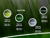 Green House Outline PowerPoint Template#6