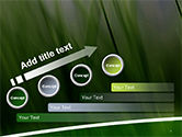 Green House Outline PowerPoint Template#9