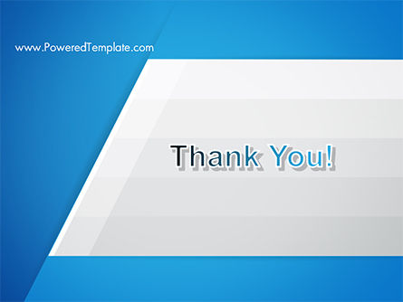 Simple Blue and White PowerPoint Template Slide 20