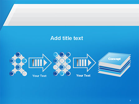 Simple Blue and White PowerPoint Template Slide 9