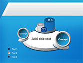 Simple Blue and White PowerPoint Template#6