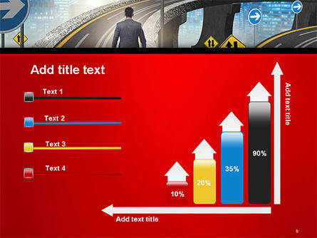 The Businessman Facing Different Roads PowerPoint Template Slide 8