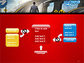 The Businessman Facing Different Roads PowerPoint Template#13
